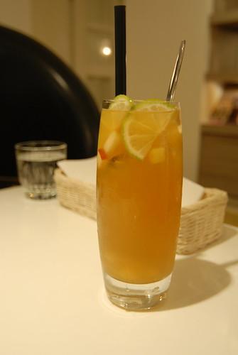 Dazzling cafe - 冰釀蜂蜜蘋果茶