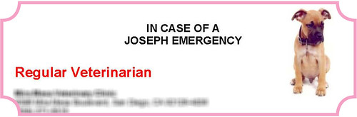 In Case of a Joseph Emergency