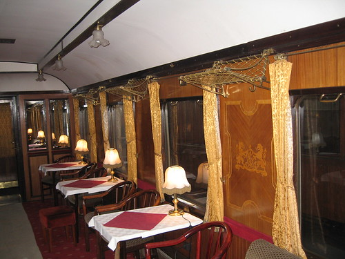 European heritage train for charters - 1916 bar car