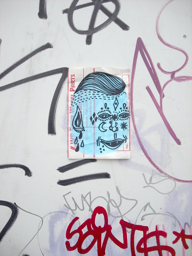 Doodles sticker - San Francisco, Ca