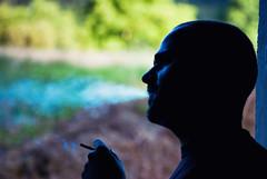 Relax your mind (Jon Díez Supat) Tags: light portrait color macro contraluz back nikon break retrato cigarette smoke cosina 100mm fumar humo rauchen cigarrillo f35 d60 erre