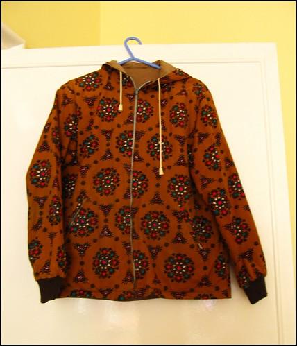 reversible 1970s jacket