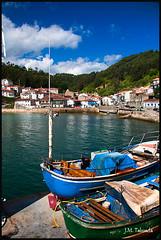 Asturias 2009 - Tazones (Jos Manuel Fotografa) Tags: espaa mar spain pueblo asturias asturies tazones