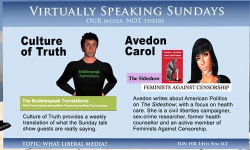 Culture of Truth & Avedon on Virtually Speaking