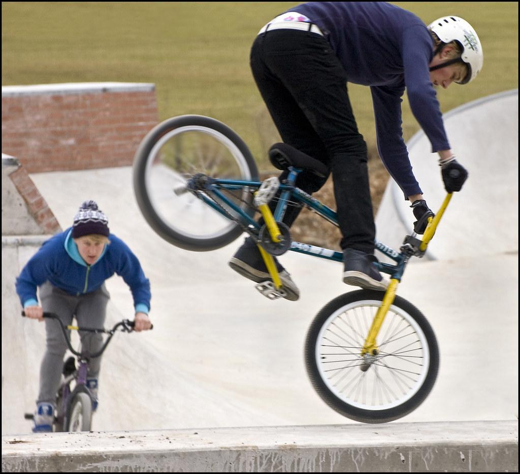 BMX Trick Riders