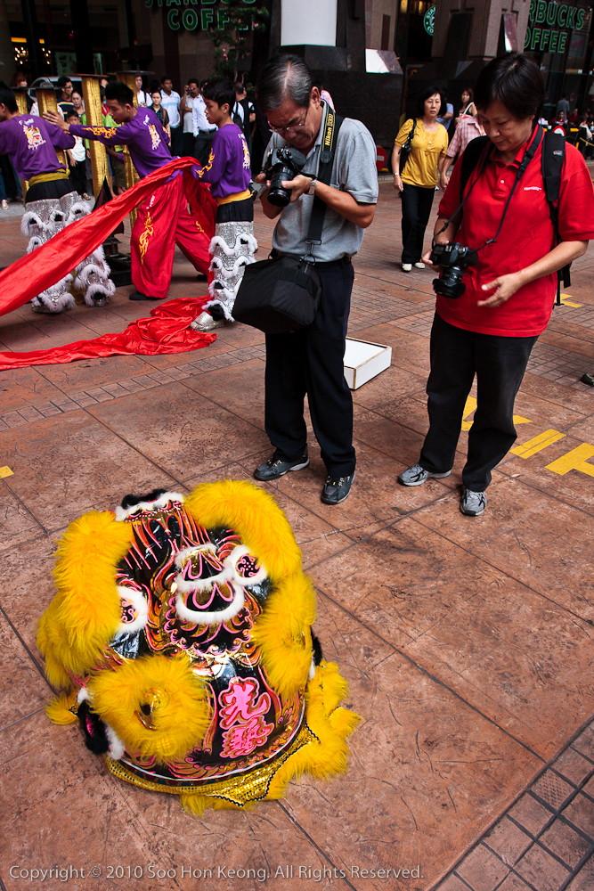 "Lion ""Head"" meet Photogs @ Berjaya Times Square, KL, Malaysia"