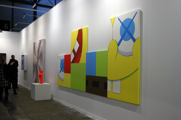 Kaws at Arco Arc Fair exhibition
