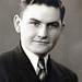 Graduation portrait of Harold Sieber of Wolford, North Dakota ca: 1942
