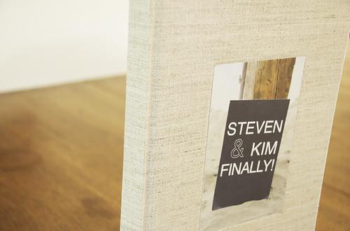 Steven + Kim Finally!