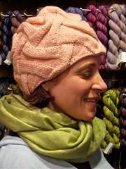 Lori's Ribbed Entrelac Hat