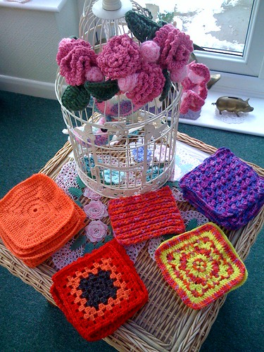 Just look at these beautiful squares! Thank you Susanna! All the way from Austria.