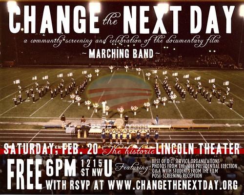 CHANGE the NEXT DAY invite Sat Feb 20