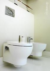 Sanitarios suspendidos (Decoratrix.com) Tags: modern bathroom toilet cistern inodoro bid baoblanco decoratrix baomoderno refbaos sanitariossuspendidos cisternaempotrada pintarbao