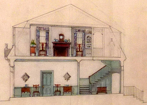 P1000815-2010-02-20-Shutze-Awards-AHS-Museum-Rendering-Own-House-Cutaway-Detail