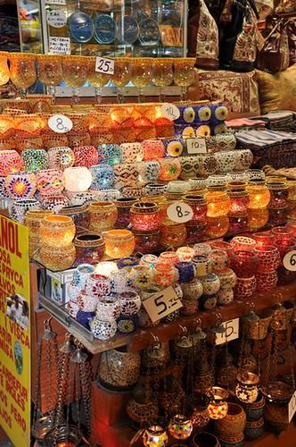 Mısır Çarşısı-mumluklar