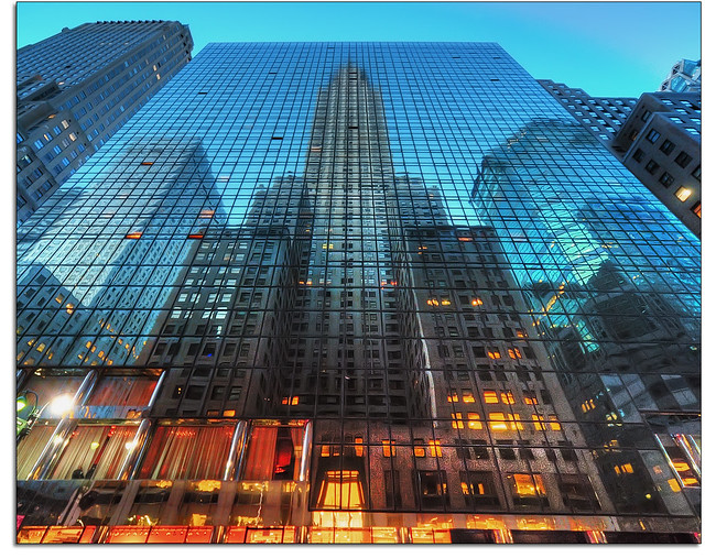 newyorkcity reflection nikon manhattan midtown grandcentralstation chryslerbuilding hdr 42ndstreet lexingtonavenue grandhyatthotel