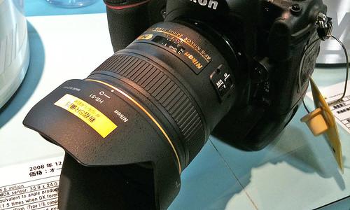 AF-S NIKKOR 24mm F1.4G ED with D3