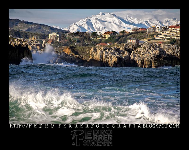 Las olas y las montañas