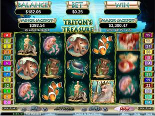 Triton's Treasure slot game online review