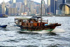 XMG_0101 (Sam's Exotic Travels) Tags: hk water skyline boats hongkong harbour houseboat waterway victoriaharbour