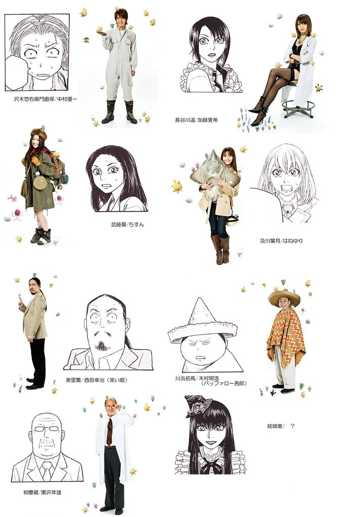 もやしもん実写ドラマ (by yukiruyu)