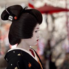 Baika-sai '10 #14 (Onihide) Tags: kyoto maiko geiko teaceremony kitanotenmangu baikasai kamishichiken ichimame 市まめ onihide