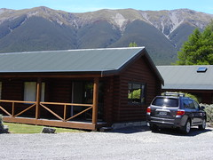 Our accommodation in St. Arnaud