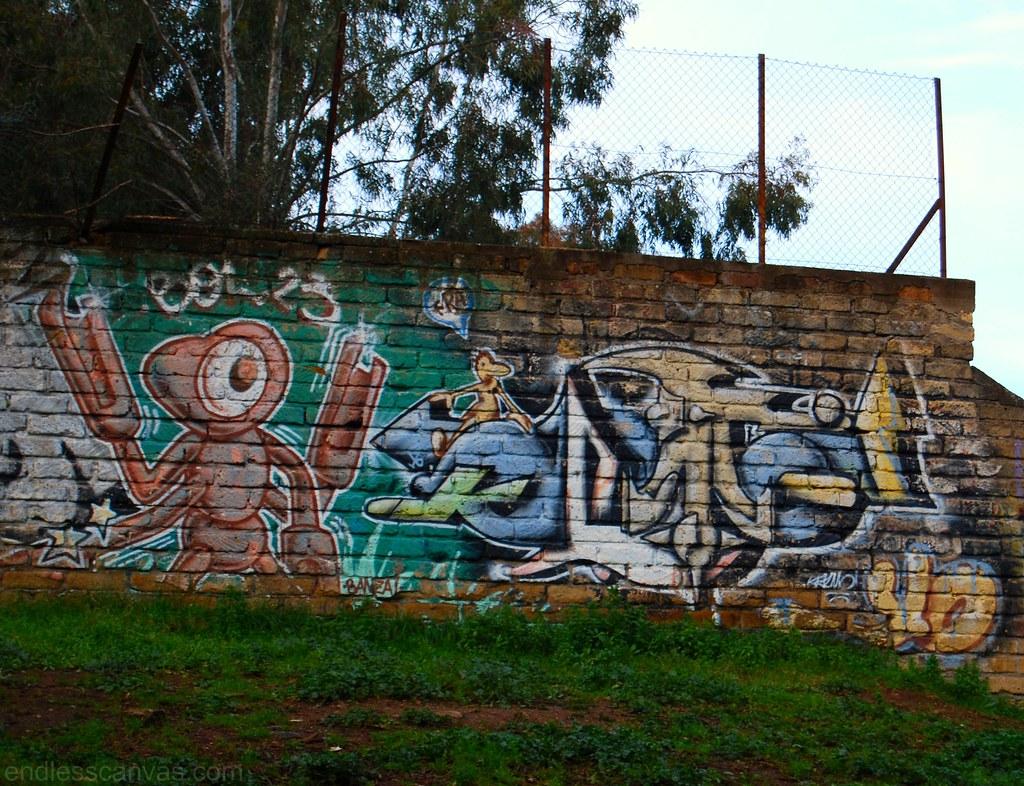 Rome Graffiti Roma Italy.