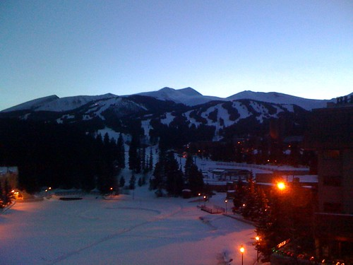 Breckenridge at Night Fall
