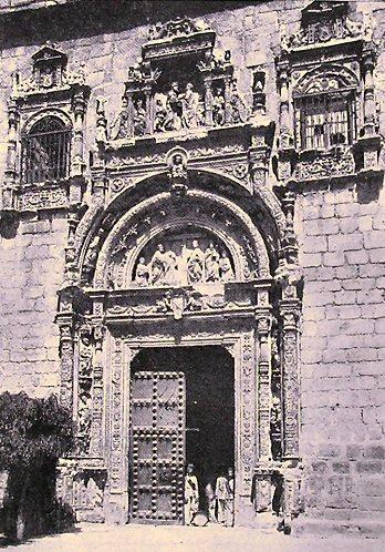 Museo de Santa Cruz en el siglo XIX. Foto Jean Laurent