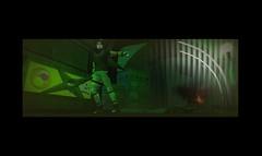 Sasuke 2 (xKyuketsuki) Tags: life leaf village ninja sl second naruto sasuke sharingan shinobi bushido