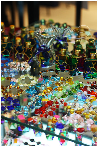Murano glass accessories