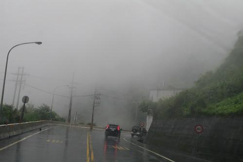 下午3點多起霧的蘇花