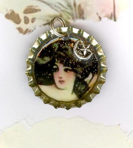 Selene Moon Goddess. SELENE- MOON GODDESS CHARM