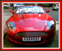 Fastest (The Stig 2009) Tags: red martin o plate convertible tony number 2009 fastest aston stig 2010 personalised thestig tonyo thestig2009