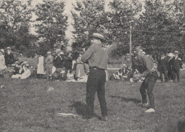 Field Day Baseball Game 1918 by UA Archives  Upper Arlington History