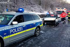 Glätteunfall A66 Erbenheim 06.03.10