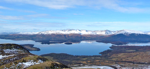 Loch Lomond and Arracher Alps