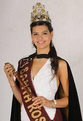 María Flor de Santa Rosa es la reina del Bicentenario