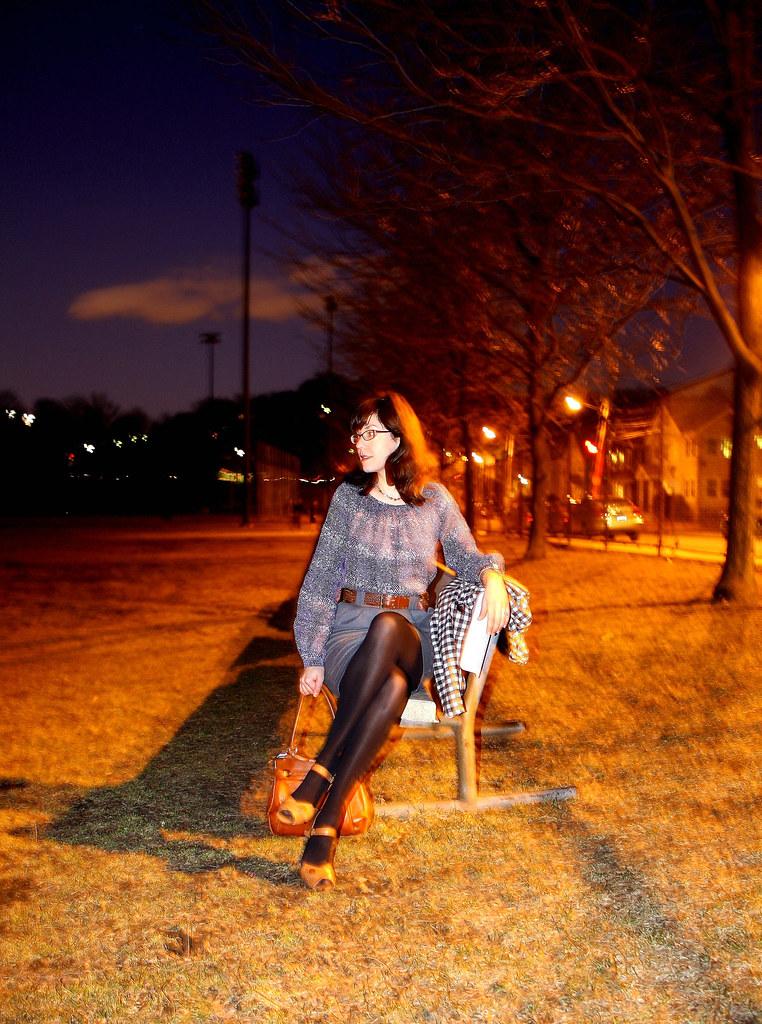 P park bench