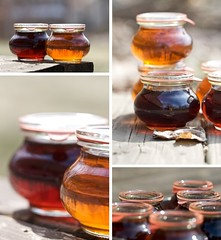 Inspired by Goodness (Chiot's Run) Tags: maplesyrup maplesugaring glassjars homemademaplesyrup chiotsrun weckjars chiotsruncom wwwchiotsruncom finishedmaplesyrup smallscalemaplesugraing