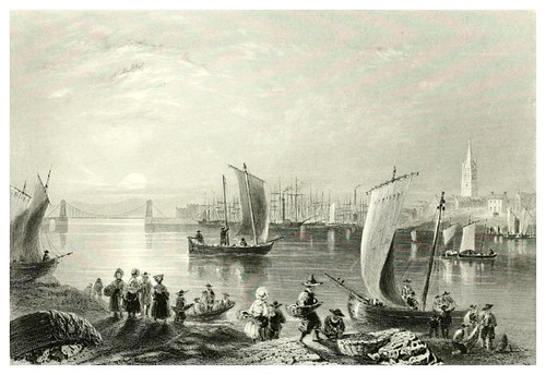 008-Monrose-The ports, harbours, watering-places, and picturesque scenery of Great Britain 1840