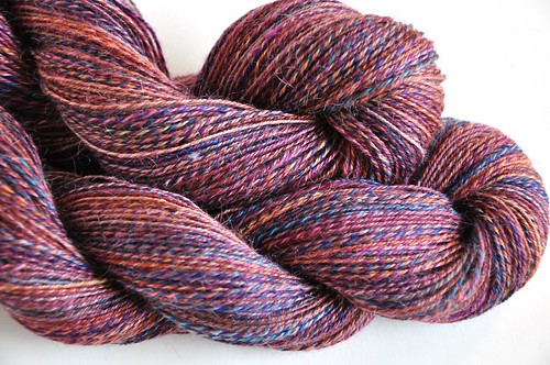 FatCatKnits-Winter Doldrums mini club-2skeins-3-ply-22WPI-total 544yds-13