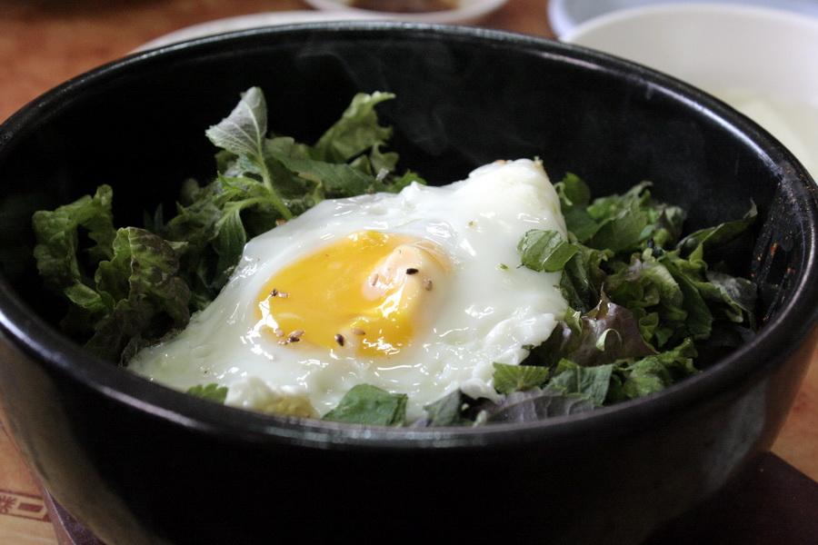 Restaurant Shinwonsa Temple(bibimbap)