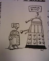 Mid-South Con 2010 : R2-D2 versus a Dalek
