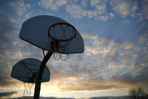 Photo365 Day 68 - Sunset Hoops