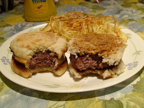 3/16/10 Corned Beef Burgers