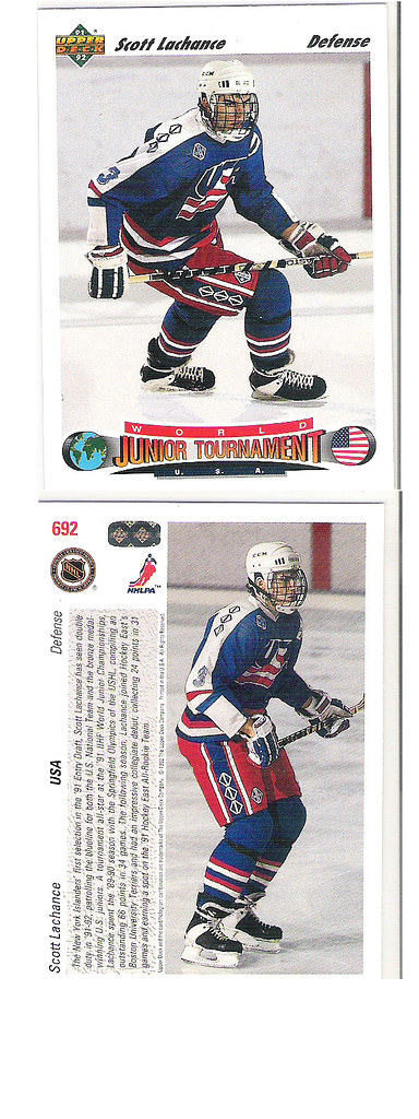 Scott LaChance Upper Deck RC #692