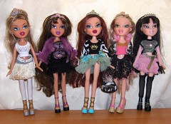 Bratz Princess dolls (Bratz UK) Tags: princess jade yasmin bratz cloe fianna roxxi