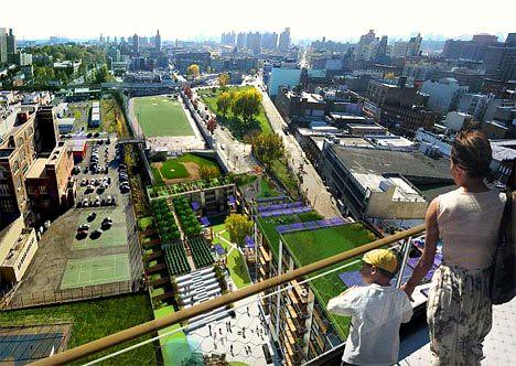 Via Verde, rendering of view from the top (courtesy of Phipps-Rose-Dattner-Grimshaw)